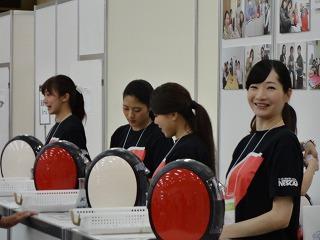 秋の展示会!イベントコンパニオン、スタッフ100人募集!!!